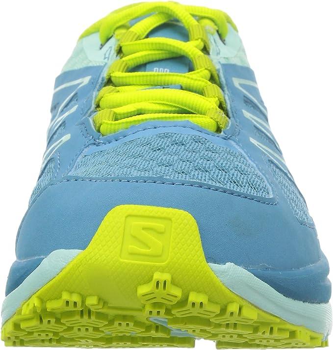 SALOMON SENSE PULSE W, Azul - Blau (Mist Blue/Igloo Blue/Gecko Green), 3.5: Amazon.es: Zapatos y complementos