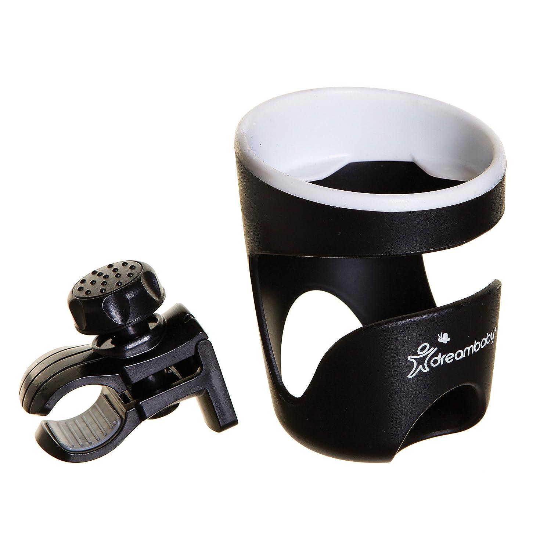 Dreambaby Strollerbuddy Stroller/Pram Drink Holder, Black Tee-Zed F298