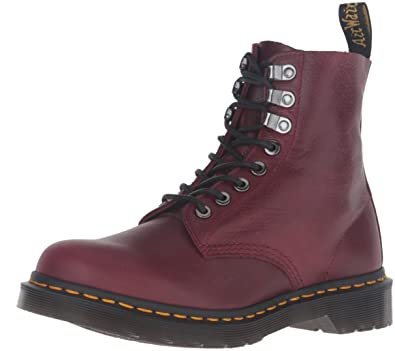 9be5adc3440 Dr. Martens PASCAL PM Vin Naturesse Bourgogne Rouge 8 trous 21610618, Wine,  36