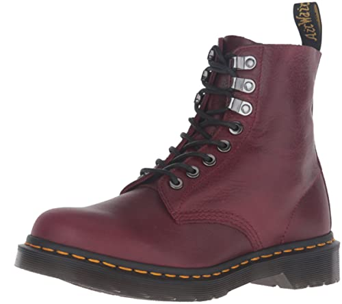 Dr. Martens PASCAL PM Wine Naturesse Burgundy Red 8-hole 21,610,618, Dr.