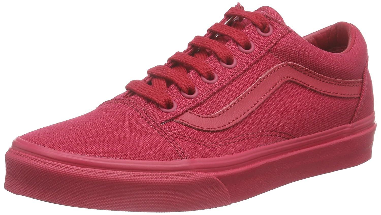 Vans Zapatillas, Unisex Adulto 44 EU Rojo (Crimson)