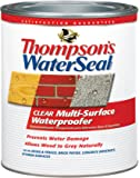 Thompson's TH.024104-14 Waterseal Clear Multi-Surface Waterproofer, quart
