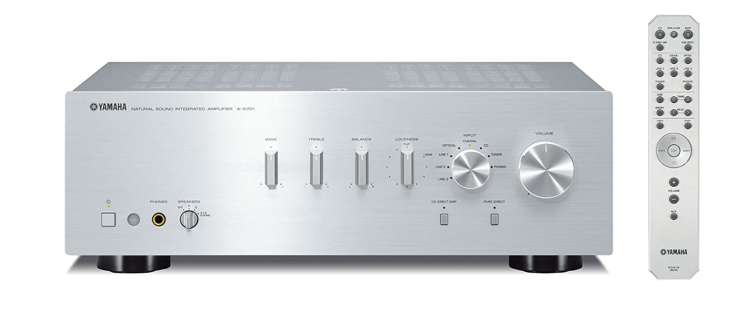 Home 187 schlafen amp bad 187 wellness pur - Amazon Com Yamaha A S701sl Natural Sound Integrated Stereo Amplifier Silver Home Audio Theater