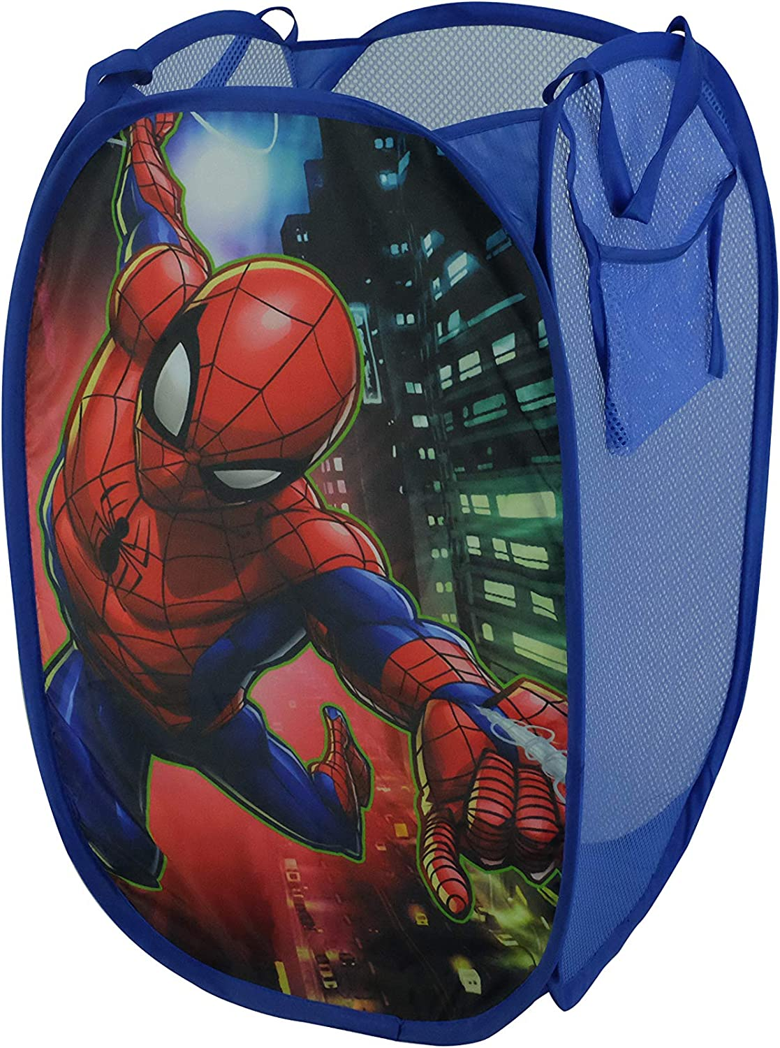 Marvel Spiderman Pop Up Laundry Bin, Red