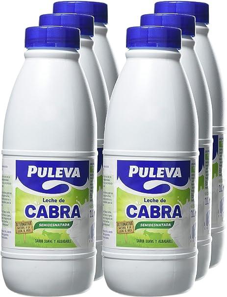 Puleva Leche de Cabra Semidesnatada - 6x1 L: Amazon.es ...