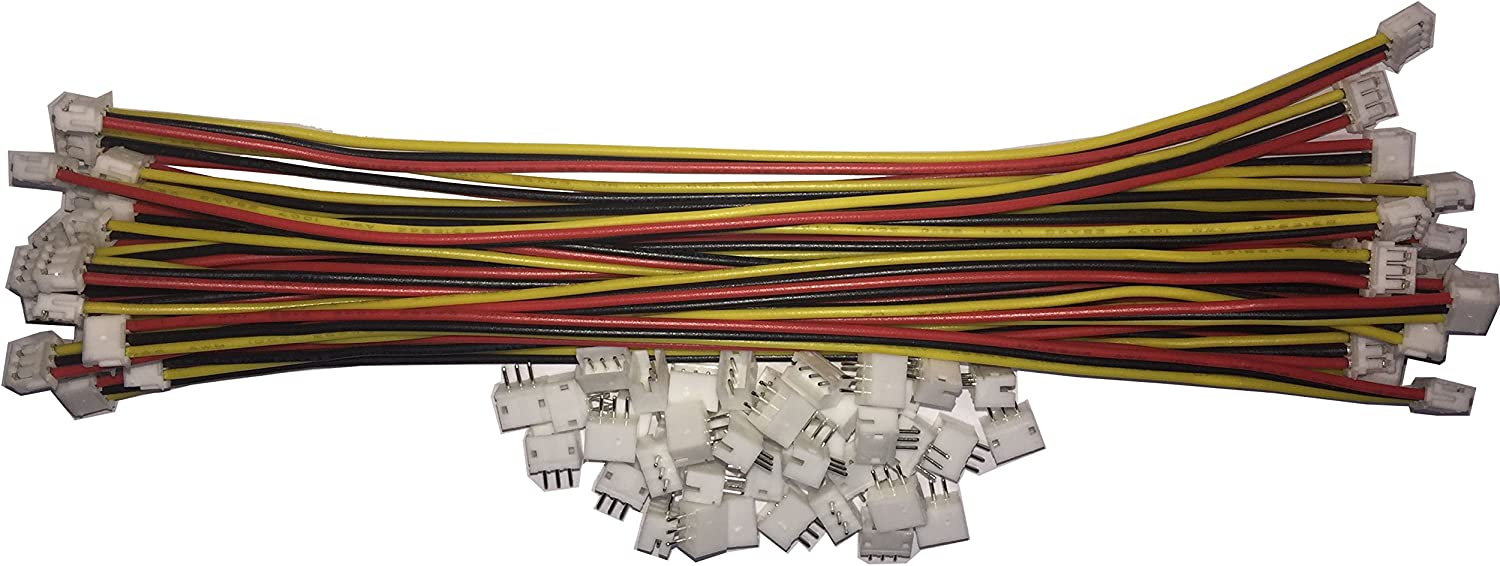 20 SETS JST ZH 1.5MM 3 Pin Female Connector plug with Wires 150MM US SHIPPING