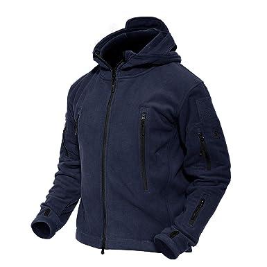 giacca a vento tipo militare blu