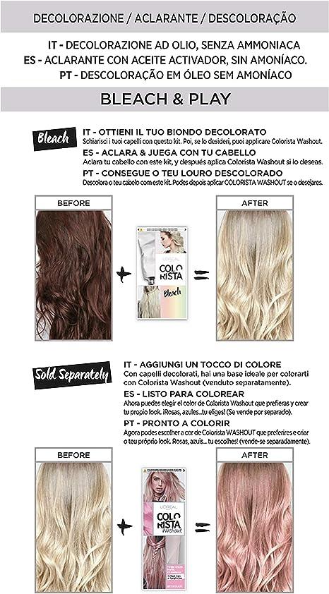 LOréal Paris Colorista Effect Blonde Bleach Decoloración de ...