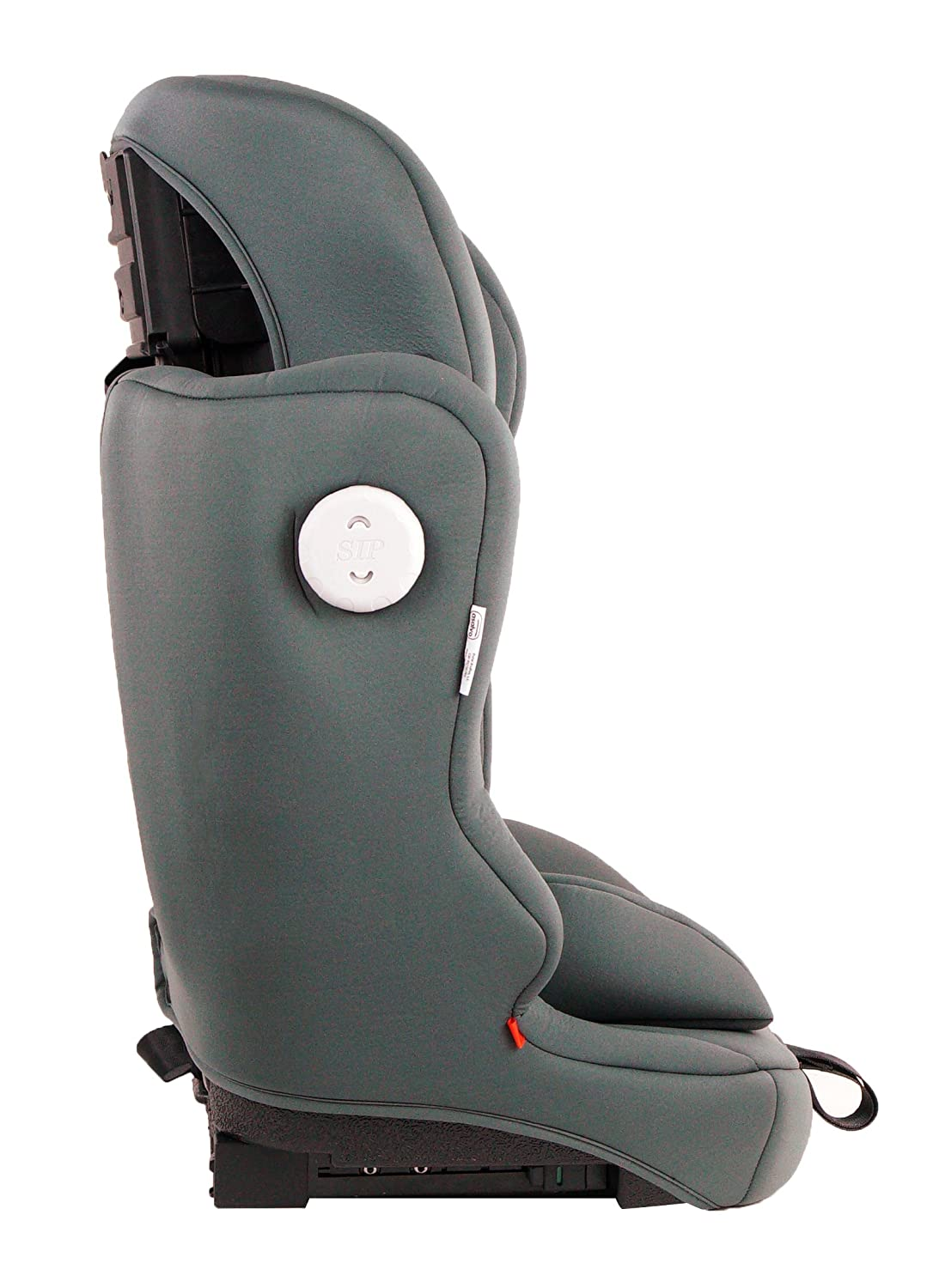 Asalvo - Silla de coche grupo 123 Master Fix, Color gris: Amazon.es: Bebé