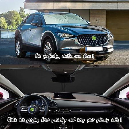 Car Sunshade Front Windscreen Sunshade Foldable Windshield Sun Visor Protector LFOTPP CX-30 CX30 Sun Shade for Windshield