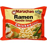 Maruchan Ramen Chicken Flavor Noodle Soup,(Pack of 12),3 oz each