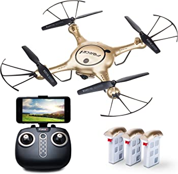 Force1 X5UW Drones w/Live Camera Feed Altitude Hold 1-Key