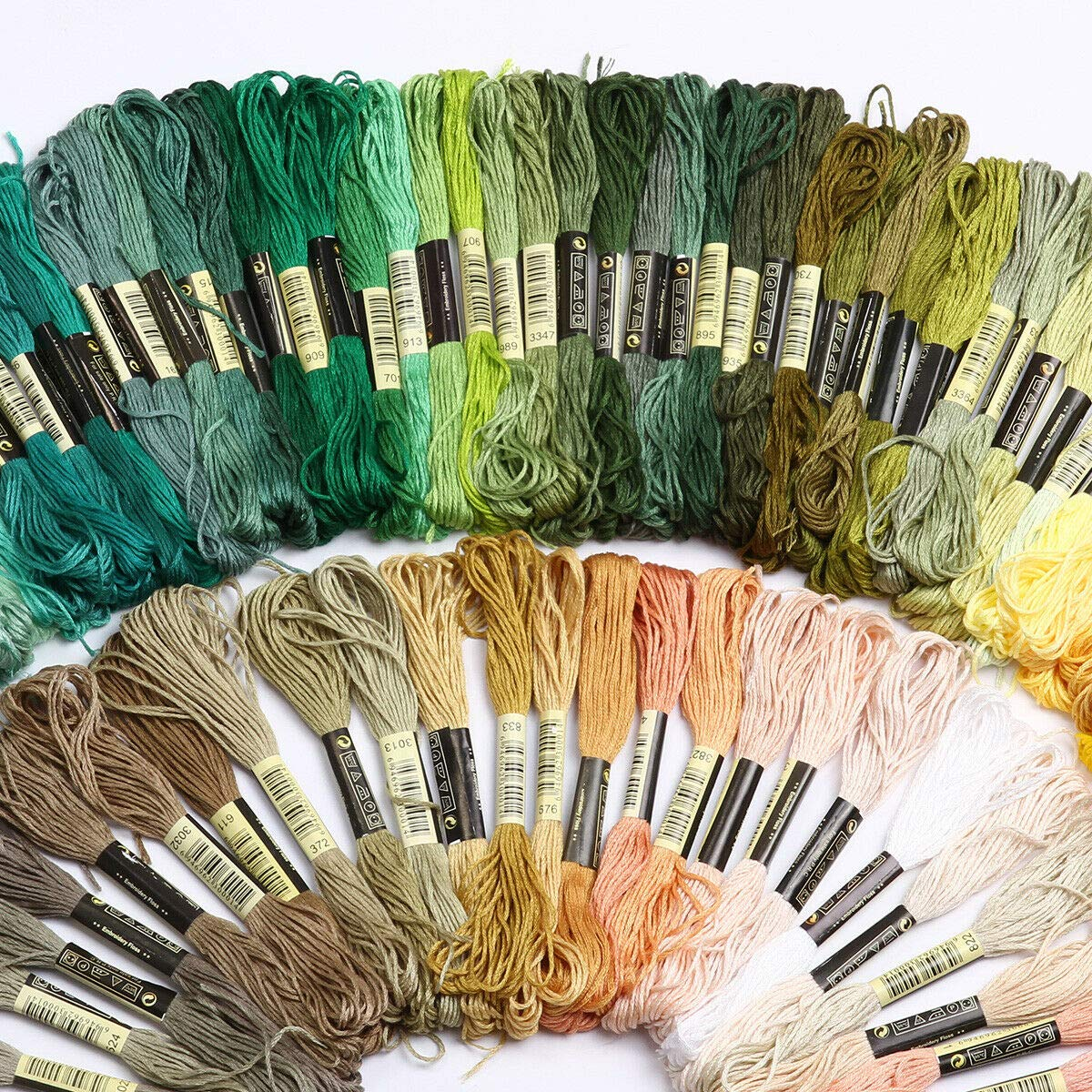 Embroidery Floss Set Embroidery Floss 100 Skeins Colored String Embroidery Floss Friendship Bracelet String Bracelets Thread for Cross Stitch Threads Bracelet Yarn Craft Floss