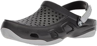 5f6d550f7ce58f Crocs Men Swiftwater Deck Clogs  Amazon.co.uk  Shoes   Bags