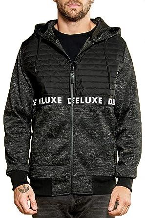 bbf8d4c806c1 Deeluxe Sweat Zippé Laken Noir - Taille XXL  Amazon.fr  Vêtements et ...