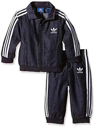 online for sale shopping detailed look adidas Originals Firebird Jeans Kinder Jogger Denim ...