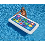 "68"" Multi-Color Smart Phone Inflatable Novelty Swimming Pool Float"