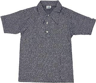 Cuckoo Jungen Vintage Geometrisch Strick Spitz Kragen-Polo Hemd T-Shirt Oberteil Größen von 5 bis 12 Jahre