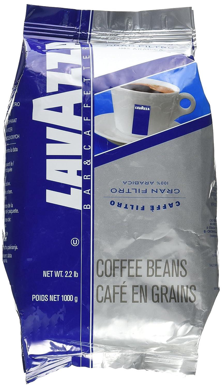 Lavazza - Gran Filtro Italian Light Roast Coffee Arabica Blend Whole Bean 2 1/5 Bag
