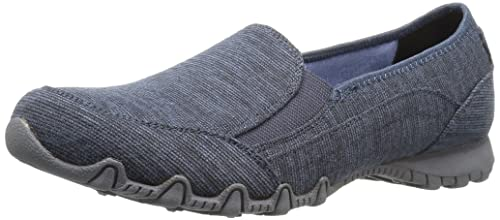 Skechers Bikers-Lounger, Mocasines para Mujer: Amazon.es: Zapatos y complementos