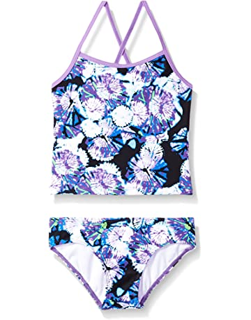 bc4868f97941d Kanu Surf Girls' Summer Dream Tankini Swimsuit
