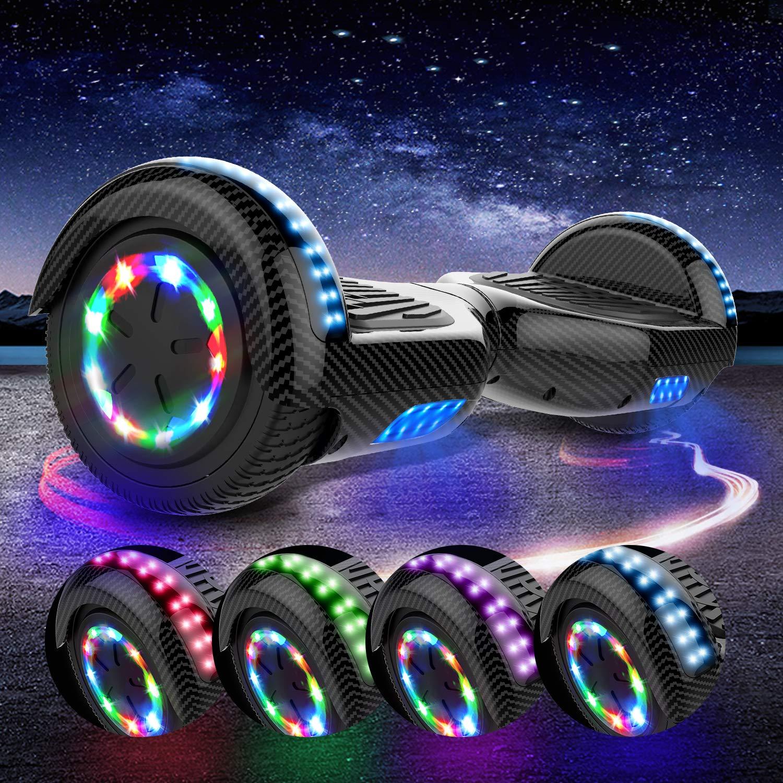 MARKBOARD Elektro Scooter Hoverboard LED 6,5 Self Balance Scooter E-Skateboard Elektroroller 700W Motor Bluetooth