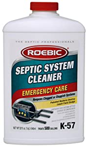 Roebic Laboratories,Inc. K-57 Septic System Treatment,32-Ounce