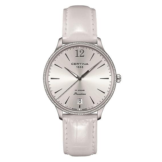 CERTINA DS Dream Reloj DE Mujer Cuarzo Correa DE Cuero C021.810.66.037.00: Amazon.es: Relojes