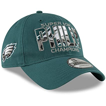 Amazon.com: New Era Autentic Philadelphia Eagles Super Bowl ...