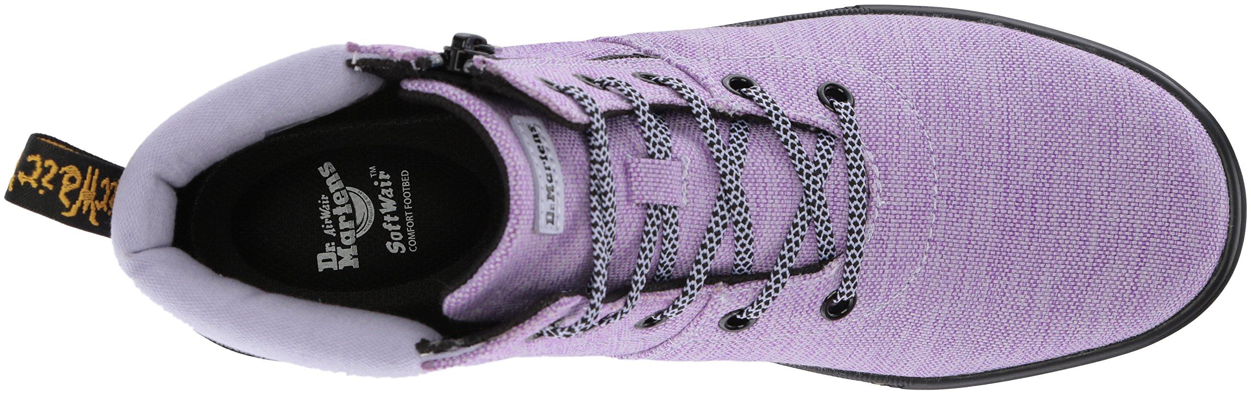 Dr. Martens Women's Maegley Fashion Boot, Purple Heather Woven Textile+Fine Canvas, 6 Medium UK (8 US) by Dr. Martens (Image #7)