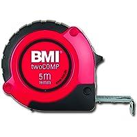 Bmi Bmi472241021 Çelik Metre, Siyah/Kırmızı, 2M X 16  Mm