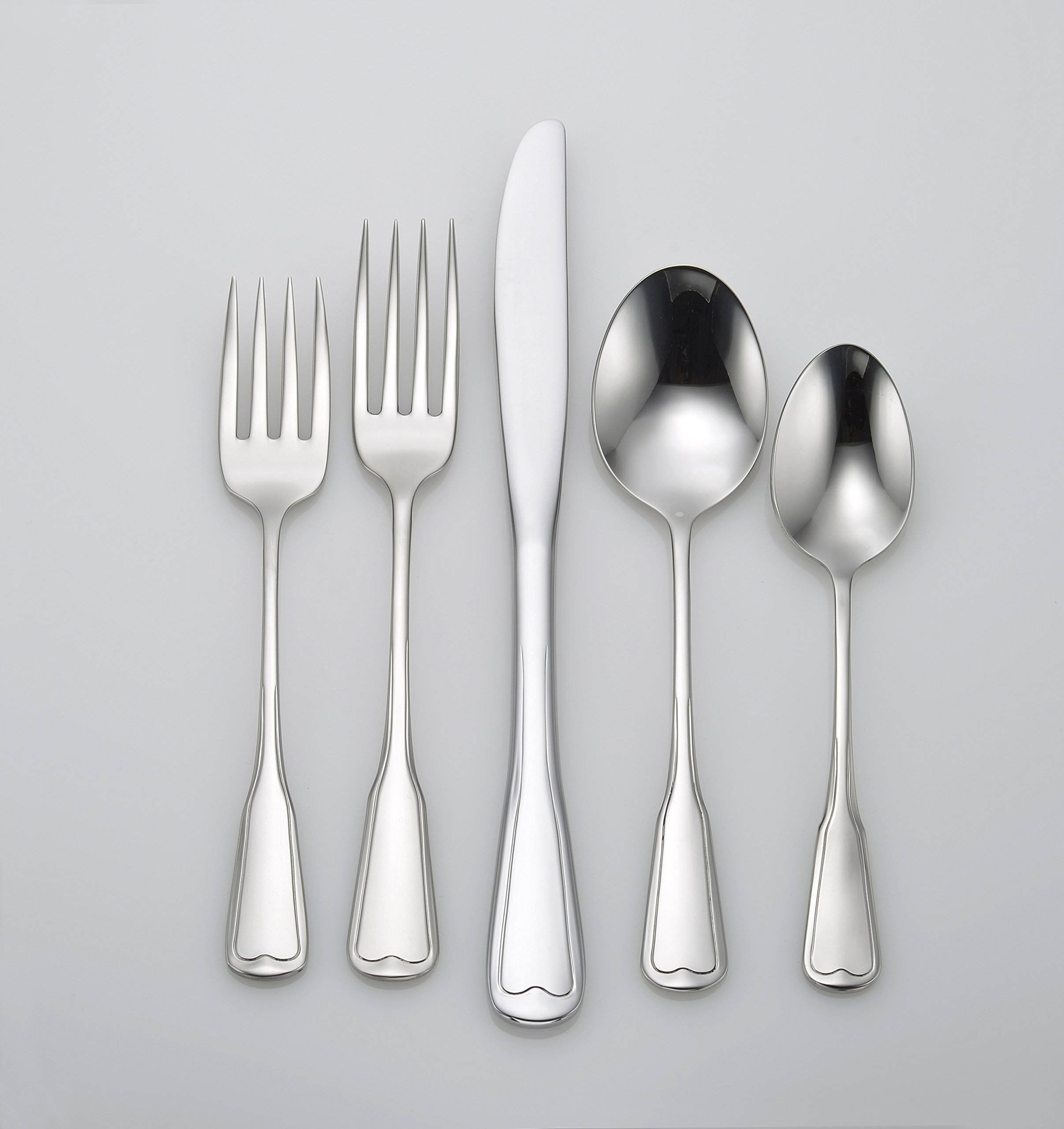 Liberty Tabletop Richmond 20 Piece Flatware Set service for 4 stainless steel 18/10 Made in USA