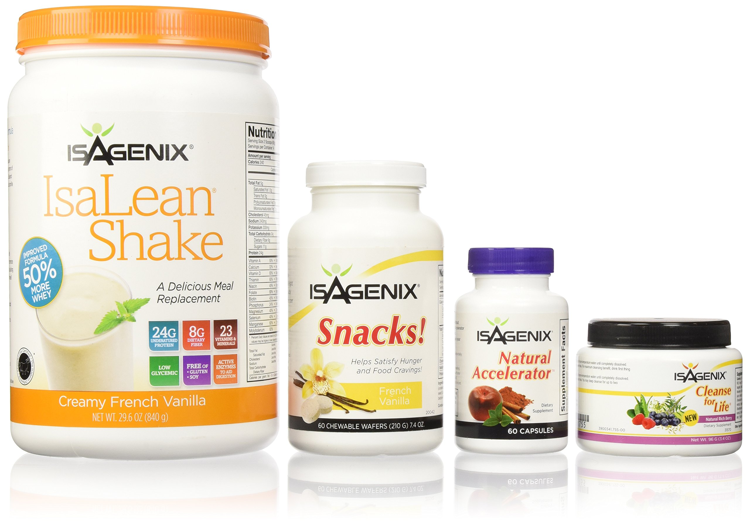 Isagenix 9 Day Deep Fat Burning and Cleanse System Vanilla Brand New