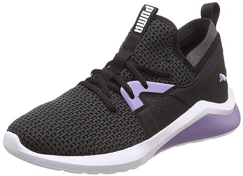 a31dfa97a99 Puma Women s Emergence Cosmic Wn s Black-Sweet Lavender Running Shoes-3  (19234701