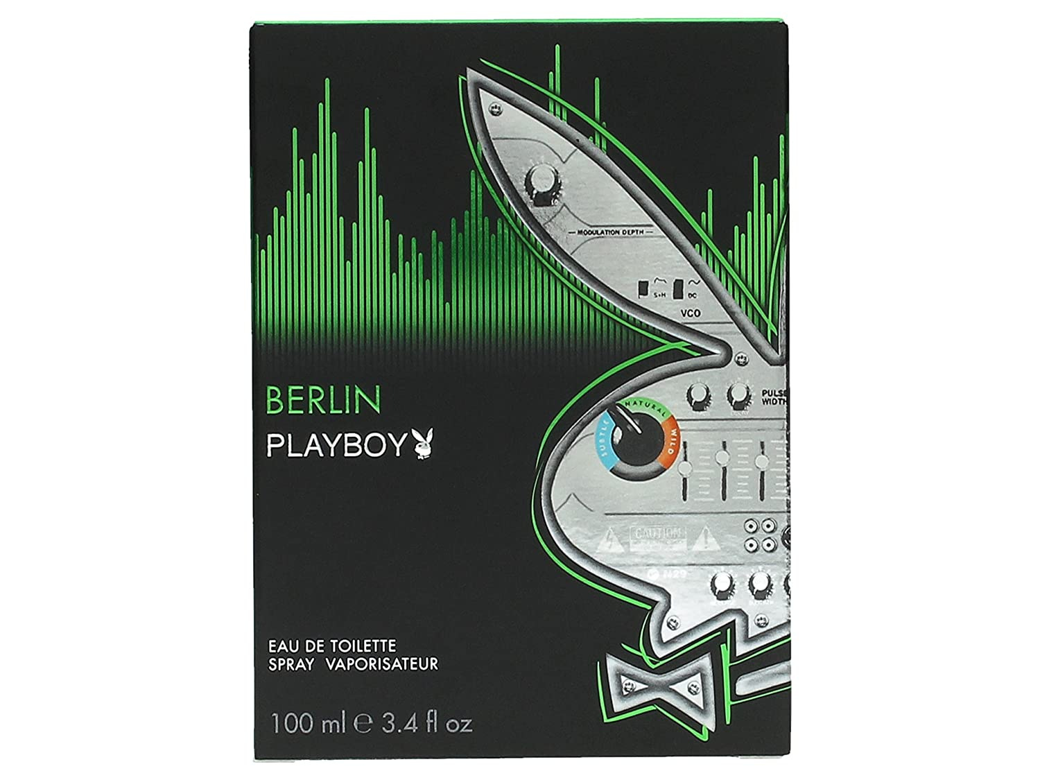 Playboy Berlin Eau de Toilette Spray for Men, 3.4 Ounce