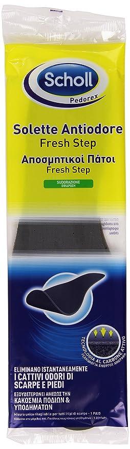 139 opinioni per Scholl Solette Antiodore, Eliminano i Cattivi Odori di Scarpe e Piedi, 1 Paio