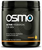 Osmo Nutrition Active Hydration for Men, Orange, 40 Serving Canister, 14.2oz