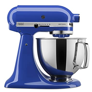 KitchenAid KSM150PSTB Artisan Series Stand Mixer with Pouring Shield, 5 quart, Twilight Blue