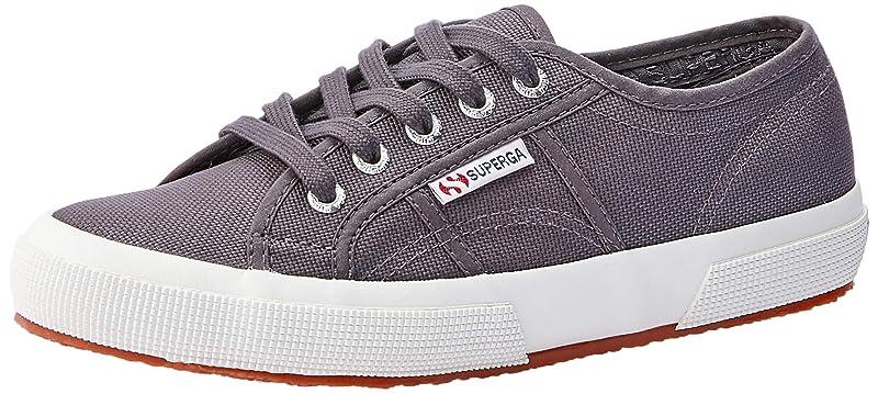 Superga 2750 Cotu Classic Sneakers Low-Top Unisex Damen Herren Grau (Dark Grey Iron)