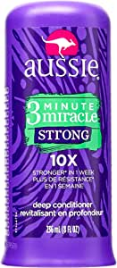 Aussie 3 Minute Miracle Strong Deep Conditioner for Unisex - 8 oz