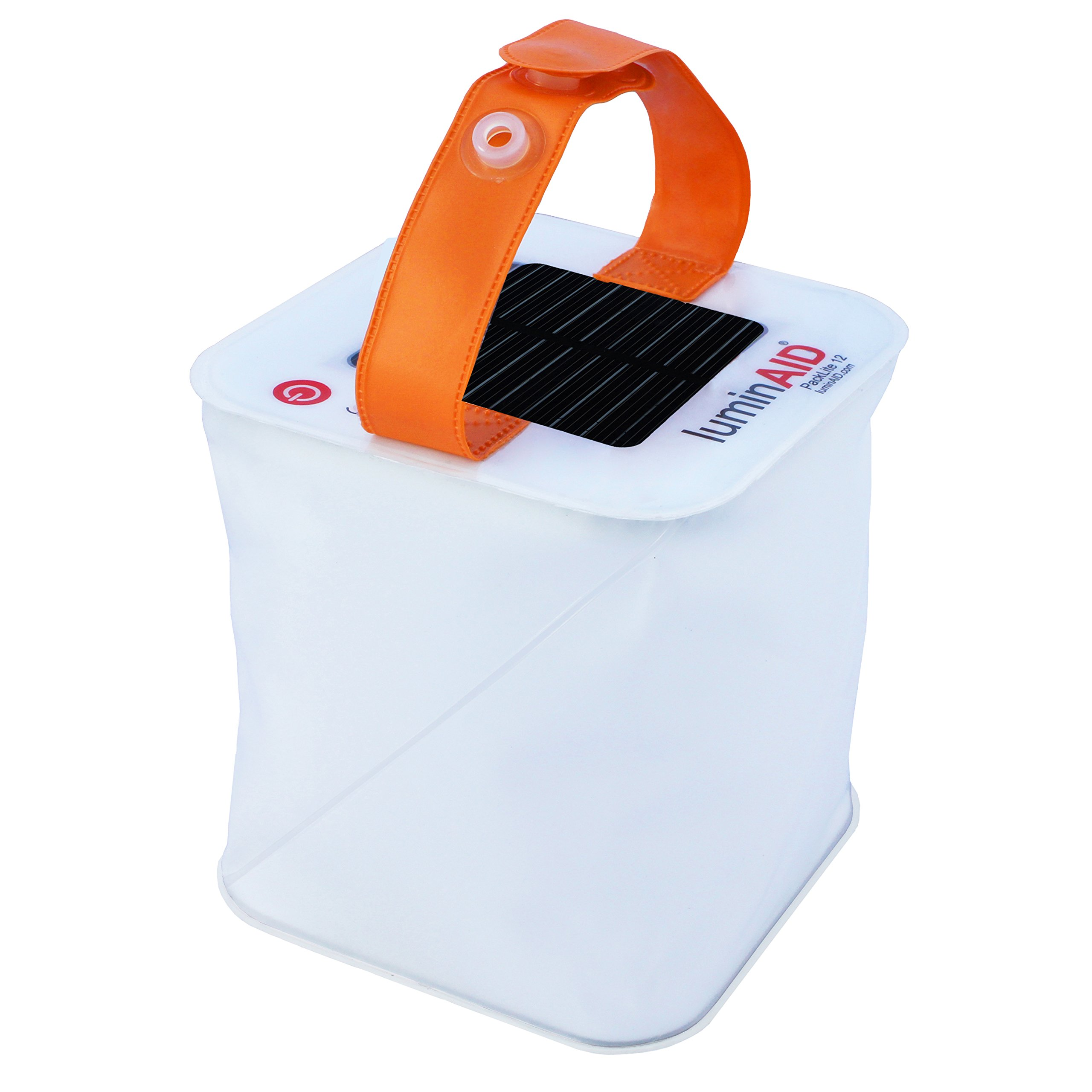 LuminAID PackLite 12 Inflatable Solar Lantern