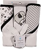 Buttons and Stitches Baby Boys Infant Hooded Towels