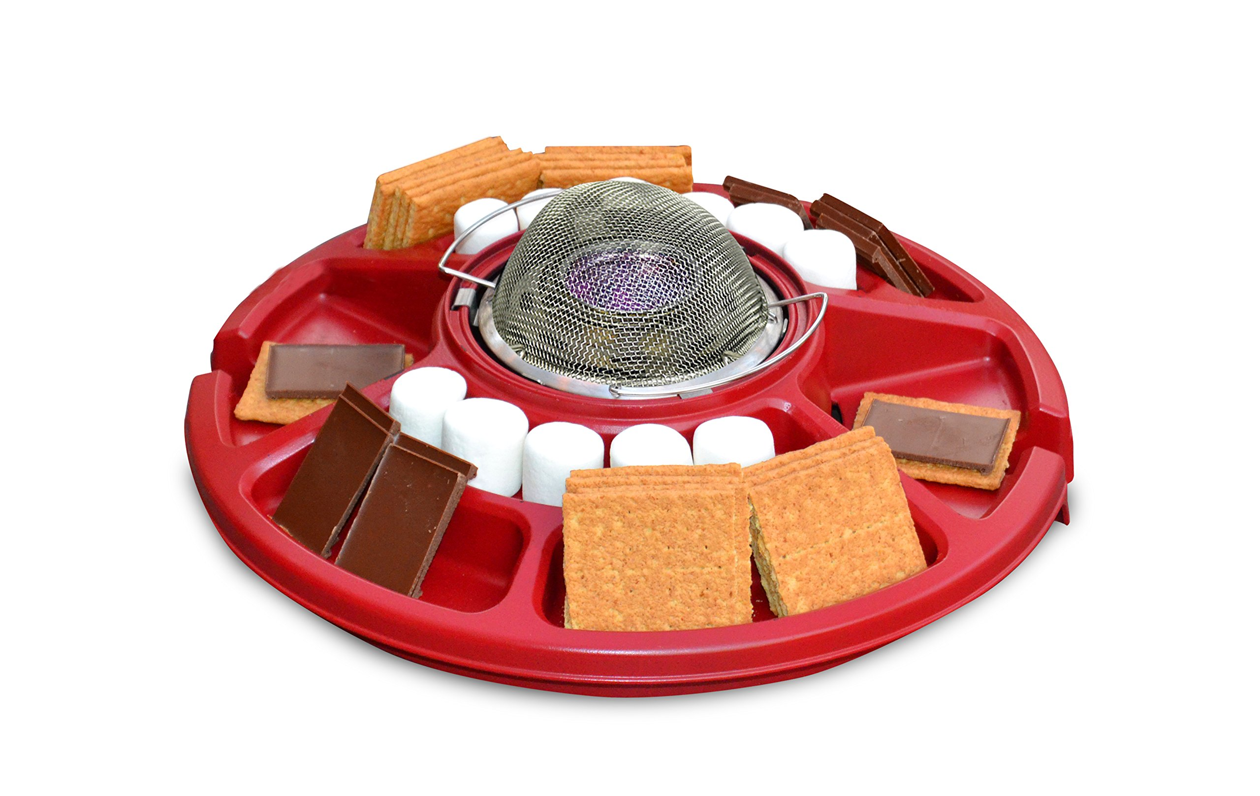 Sterno 70228 Family Fun S'mores Maker, Red by Sterno