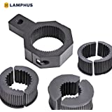 "LAMPHUS Cruizer LED Off-Road Light Vertical Bar Clamp Mounting Kit 1""/1.5""/1.75""/2"" [1 Clamp] [Includes Allen Hex Key] [User-friendly] - For Light Bar Bull Bar Tube Clamp Roof Roll Cage Holder"