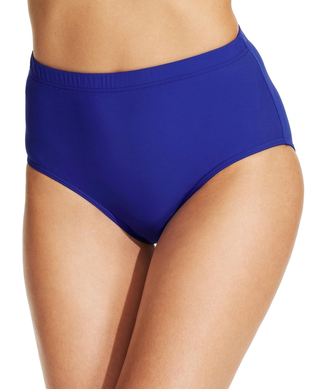 7e3f89024da4b Amazon.com  Swim Solutions Women s High Waist Swim Brief Bottom  Clothing