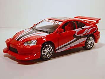 amazon com acura rsx type s 1 24 die cast toys games