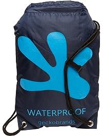 geckobrands Waterproof Drawstring Backpack ea90bdb533faa