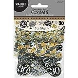 Amscan 360187 34 g Gold Celebration 30th Confetti