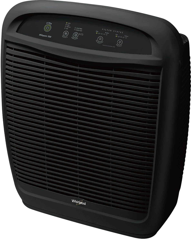 Whirlpool WP500B WP500 Whispure Air Purifier – Slate Black, Large