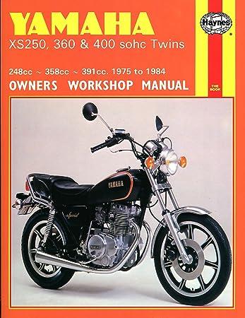 1975-1984 Yamaha XS250 XS360 XS400 XS 250 360 400 HAYNES REPAIR MANUAL on
